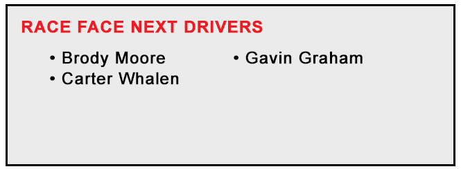 RF Next Drivers for RFTV 2021